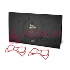 Пэстисы Bijoux Mimi Bow Red красные