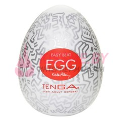 Мастурбатор яйцо Tenga Egg Keith Haring Party